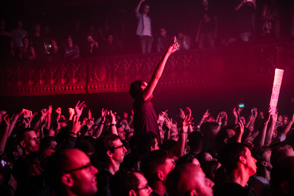 Above and Beyond // Le Trianon.