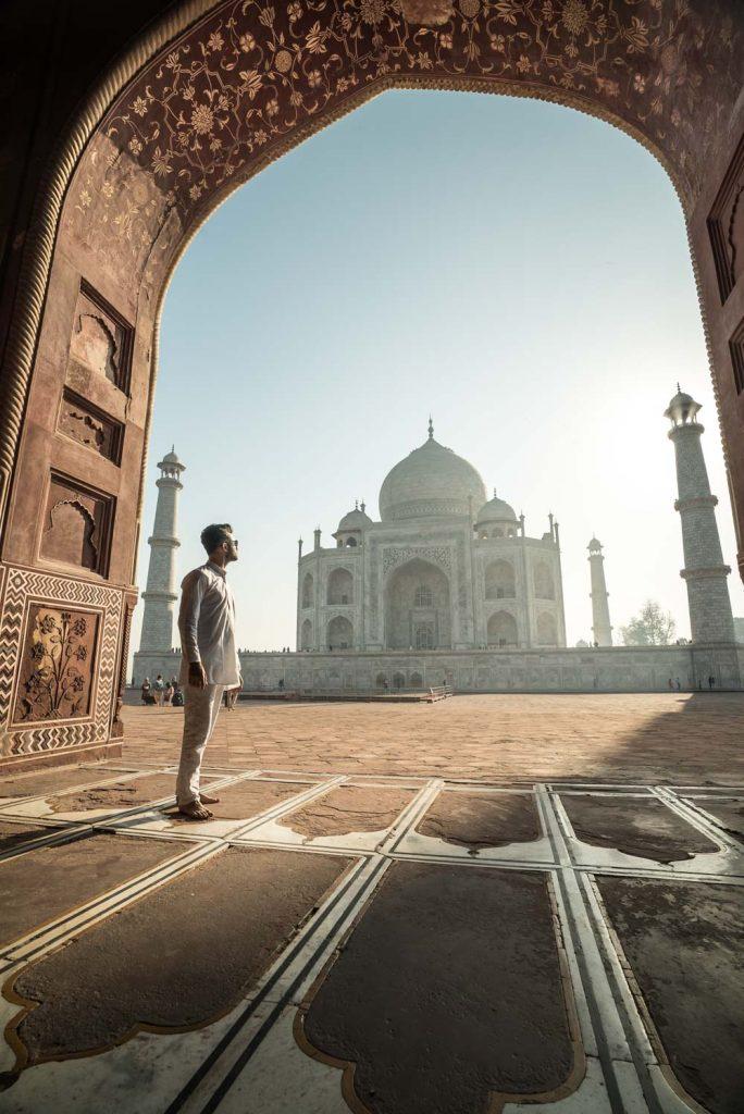 Taj Mahal, Inde.